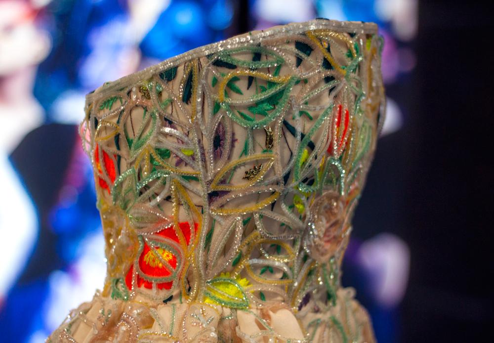 Esprit Dior Exhibition Japan, Ginza, dior gown,