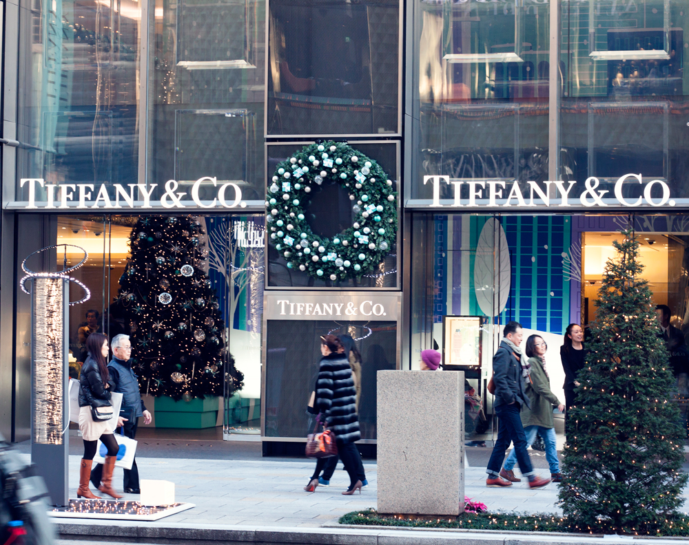 Tiffany's Ginza Flagship store, tokyo, japan
