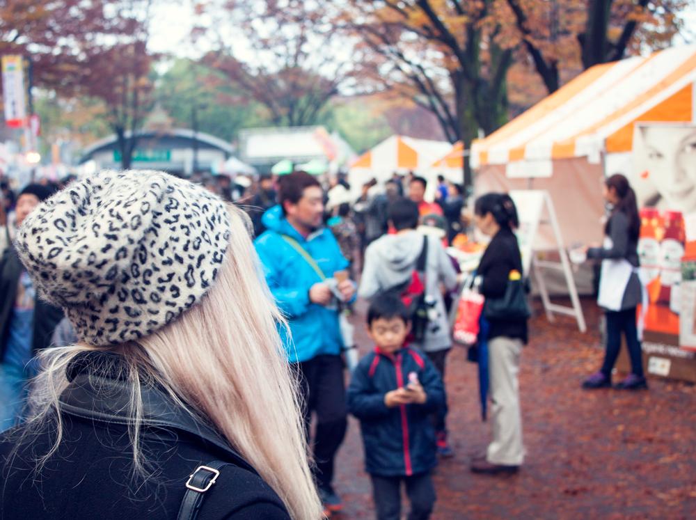 Tokyo Vege food festa, leopard hat, yoyogi park, vegan, vegan food, tokyo, japan , 2014