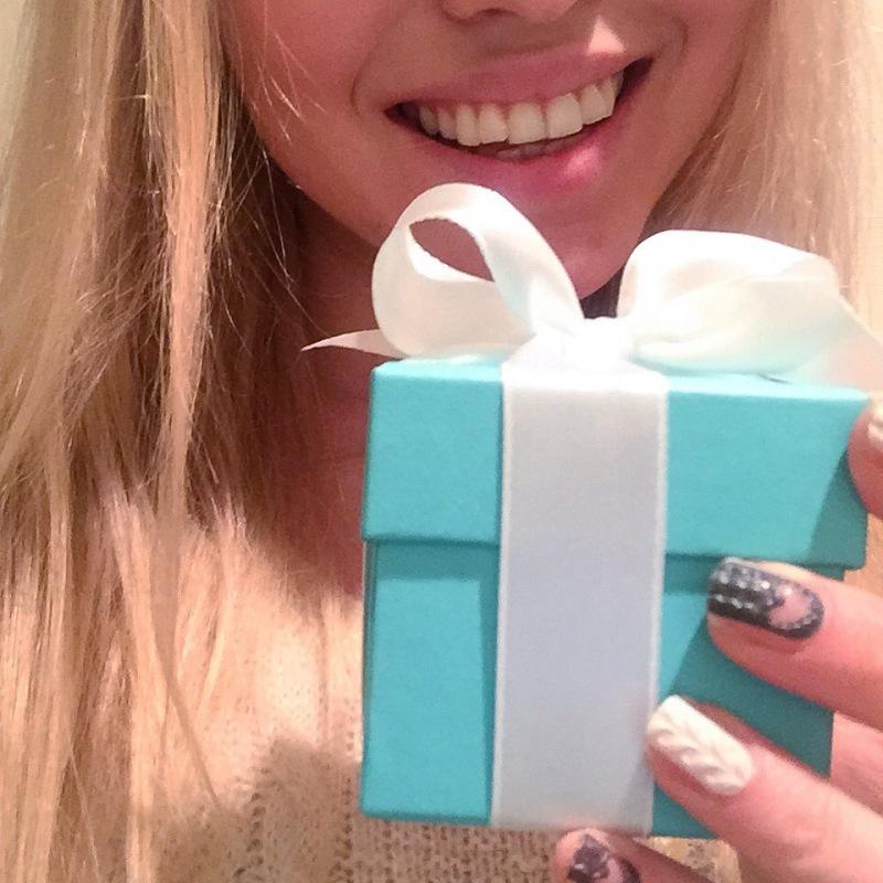 Tiffany's Engagement ring, Tiffany's blue box, Tiffany's Tokyo, Japan