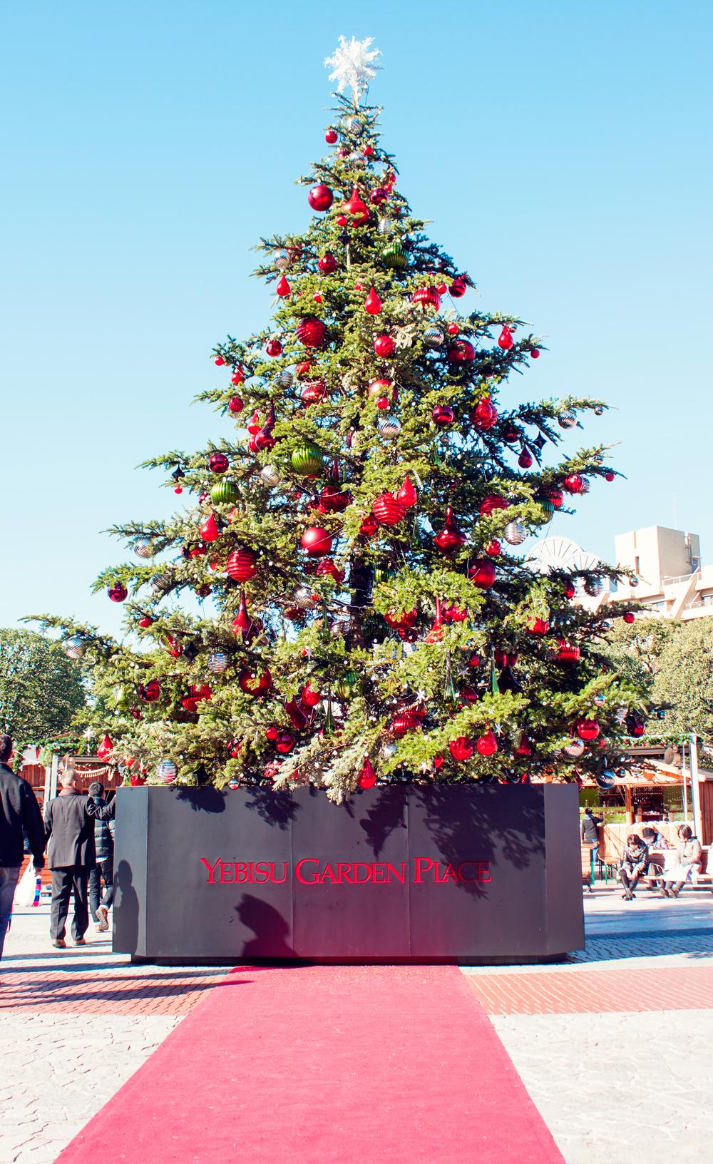 Yebisu Garden Place, baccarat eternal lights, Ebisu, Christmas market, crystal chandelier