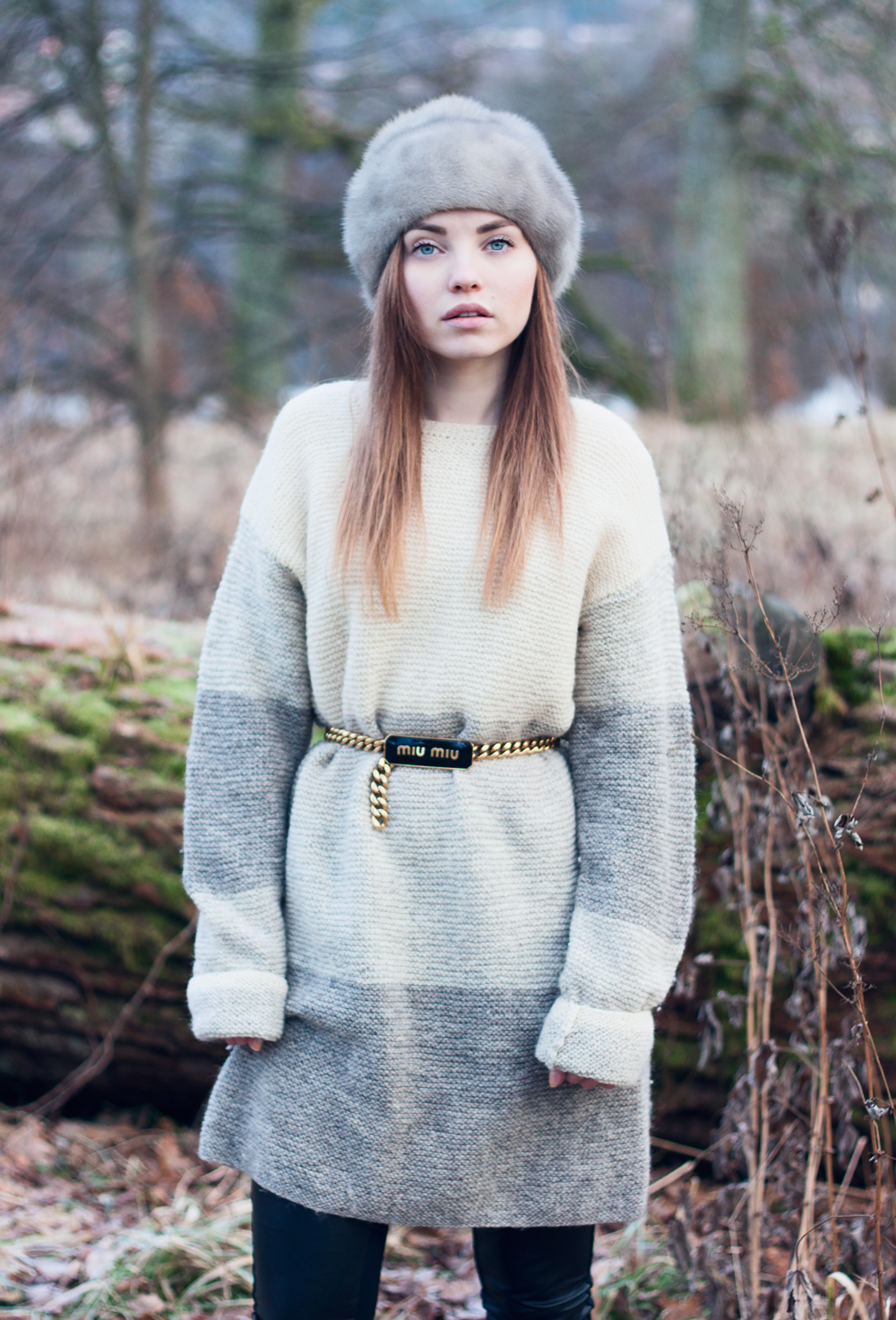 Knits, Nääs Castle, Nääs Slott, Fur, Miu Mu Belt, Sweden, Gothenburg Nature