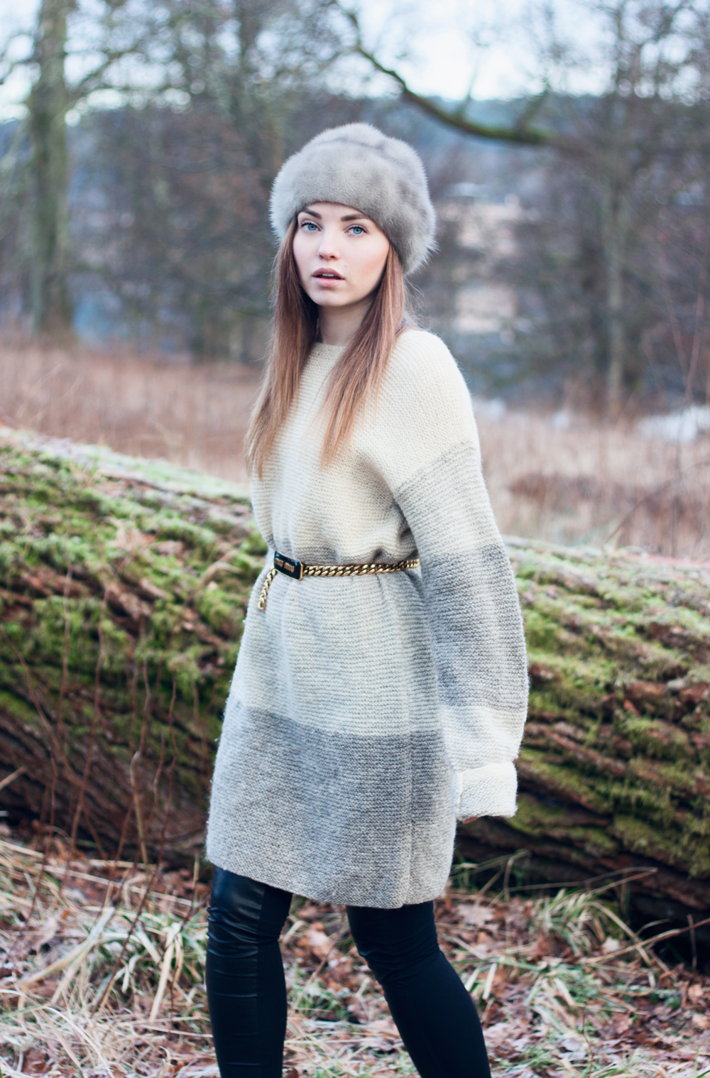 Knits, Nääs Castle, Nääs Slott, Fur, Miu Mu Belt, Sweden, Gothenburg Nature