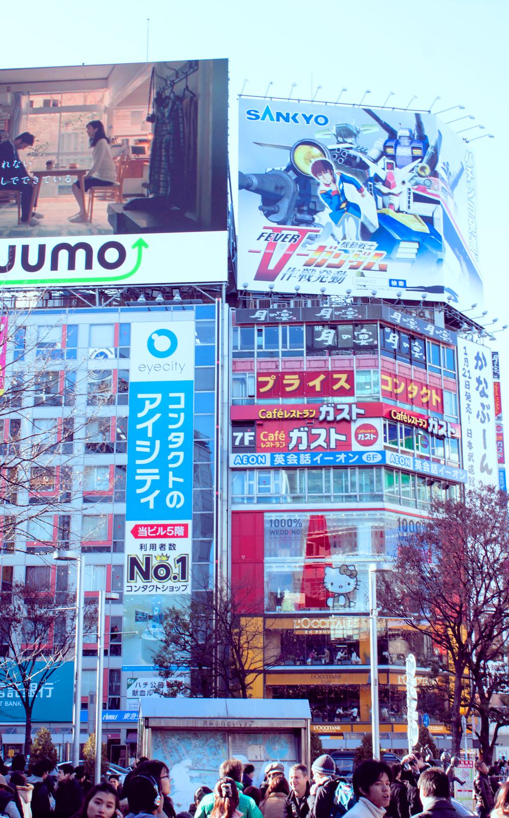 shibuya station, hachiko exit, ,shibuya crossing, shibuya scramble crossing, worlds biggest pedestrian crossing, japan, tokyo, veiled beanie, shibuya