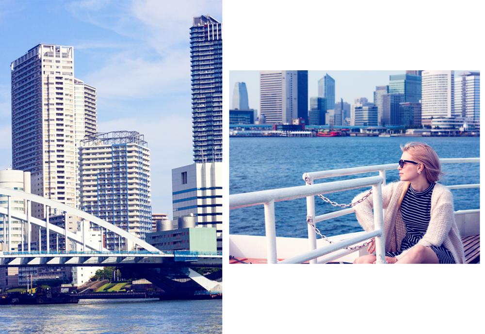 Boat trip from Asakusa to Odaiba, Tokyo boat trip,  Boat trip Japan,  sightseeing