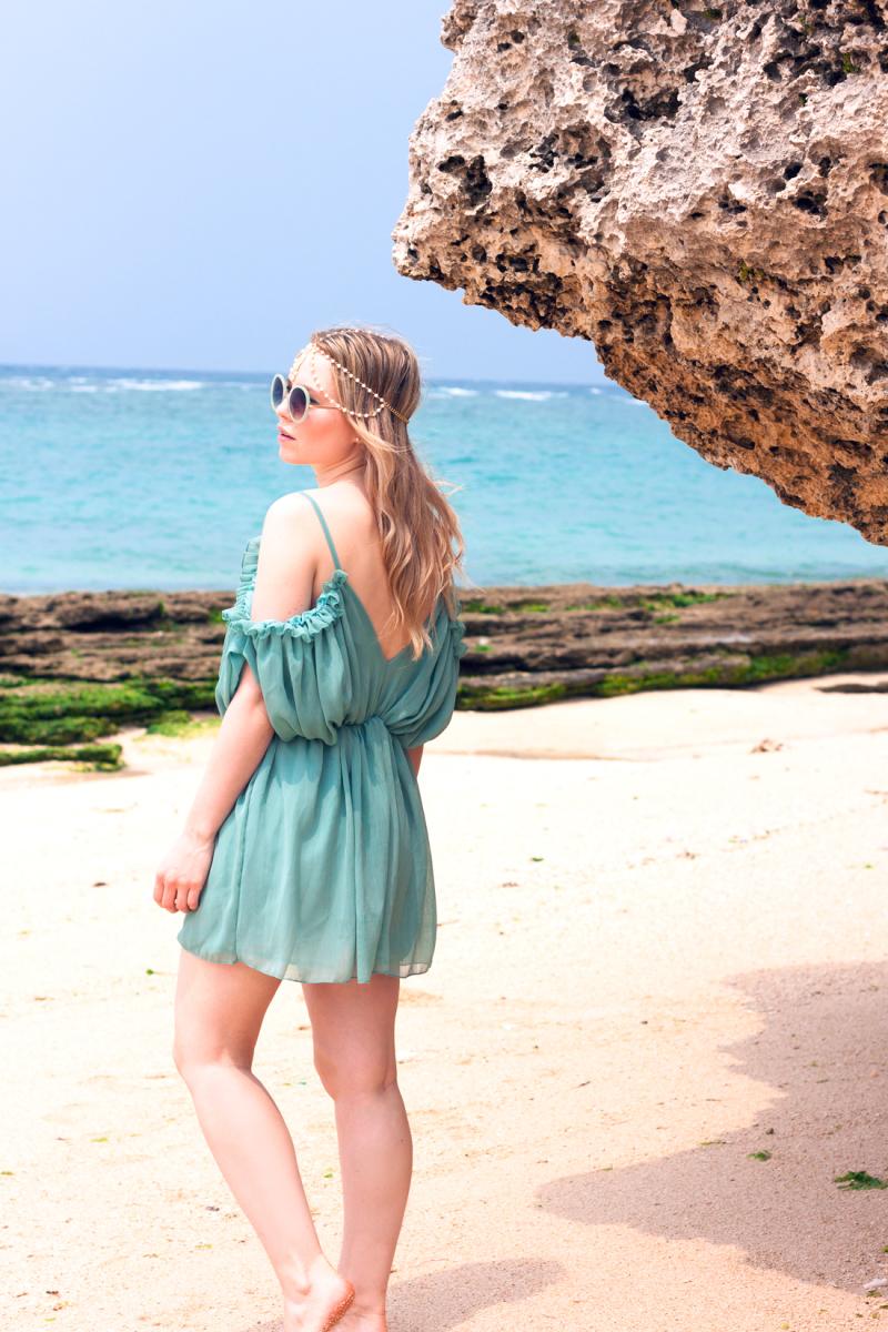 Okinawa, Okinawa beach, japan vacation, japanese island, japanese summer, playsuit, crystal clear water, beach, gypsy mermaid