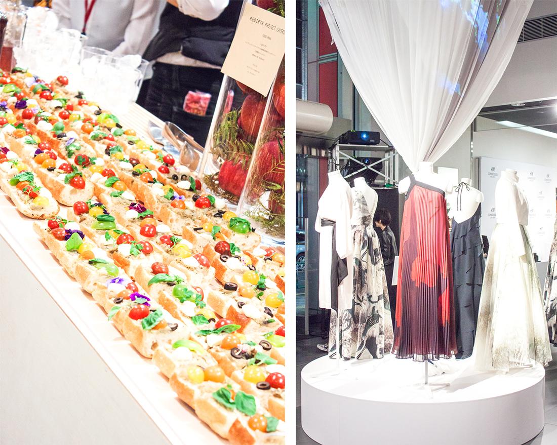 tokyo hm, hm conscious collection 2015, hm shinjuku, ice cream bag, organic food, japan, hm conscious