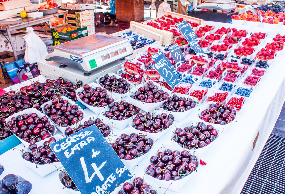 Cours saleya, nice, france, french riviera, french market, vacation, food market, fruit market