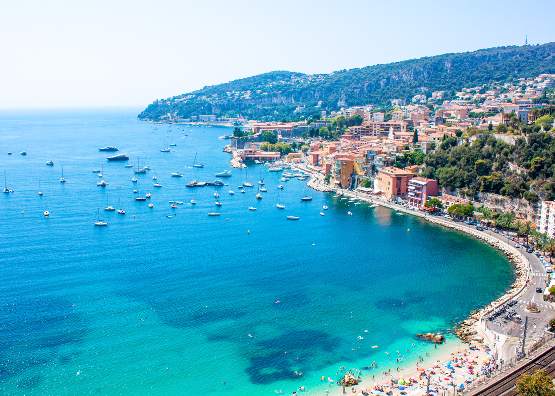 Harbour of villefranche-sur-mer, villefranche-sur-mer, Mediterranean Sea, natural harbour, france, french riviera, travel blog, deepest natural harbours in the Mediterranean Sea