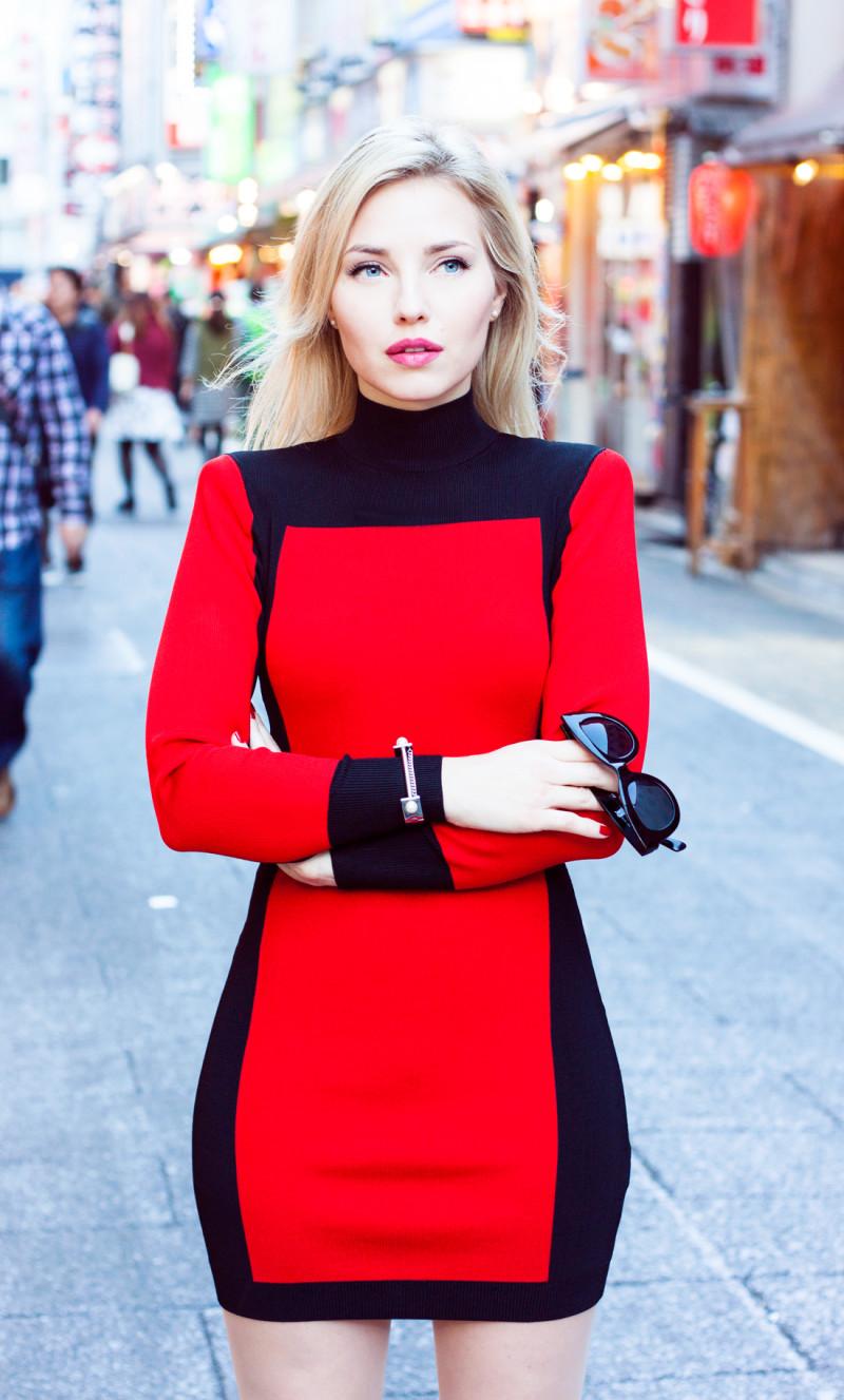 Balmain X H M Red Dress An Tokyo
