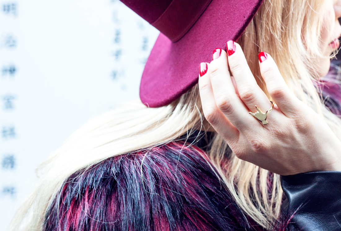 Balmain H&M collection, Balmain fur jacket, Balmain H&M Faux Fur jacket, Balmain jacket, Balmain blogger, HmBalmaination, Balmainarmy, tokyo fashion, tokyo, japan, meiji jingu shrine, tokyo sightseeing,