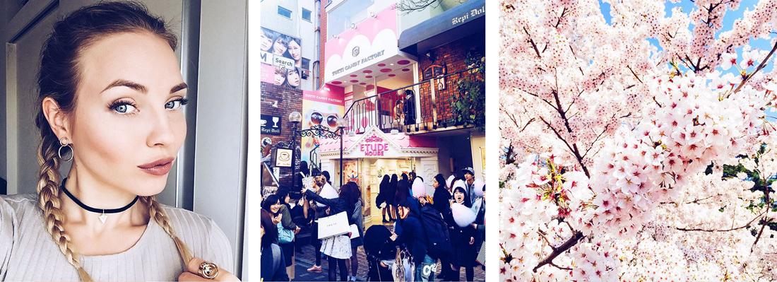 cherryblossomstreet instagram. japan instagram, makeup instagram, puppies instagram, tokyo sightseeing blog, tokyo blog, tokyo fashion week blog, omotesando coffe van, ginza, japanese paper umbrella, sakura, cherryblossoms