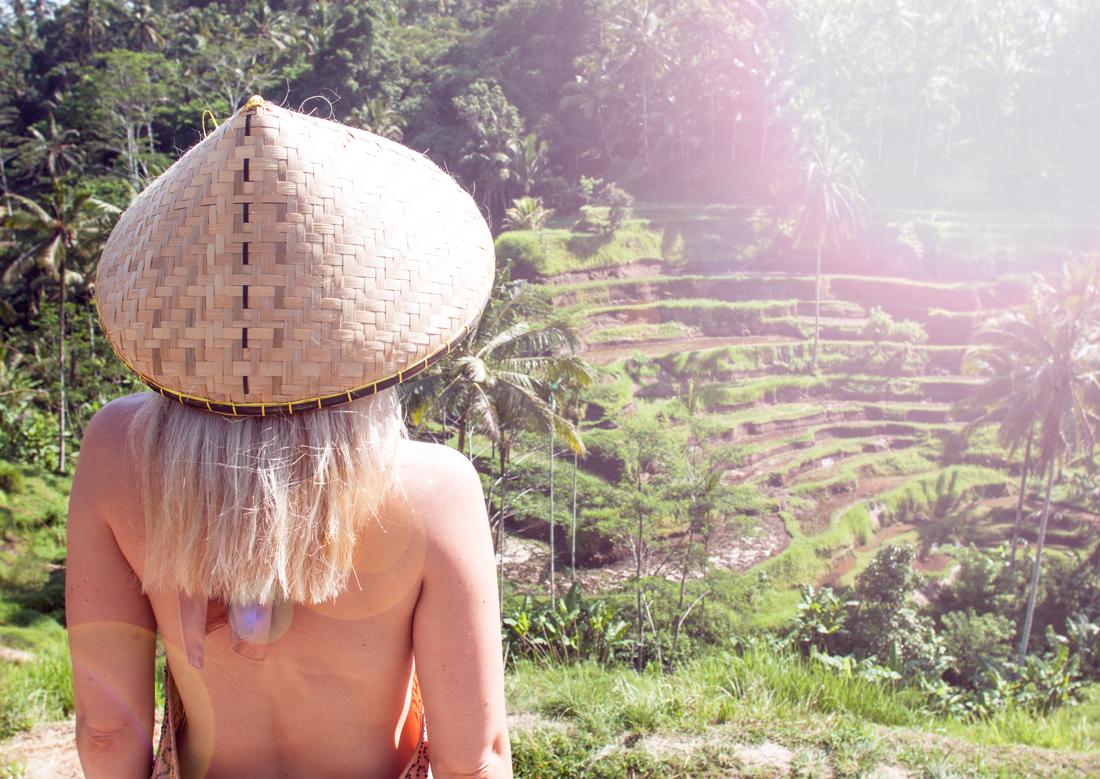 ubud rice terrace, ubud, bali rice terrace, rice terrace fashion, tegallalang rice terraces, tegallalang rice terraces ubud, bali vacation, The Asian conical, ubud vacation, travel guide bali, travel blog